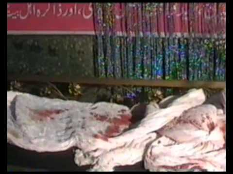 Miracle(mojza) .Fresh blood is continued in Turban since 2008wmv