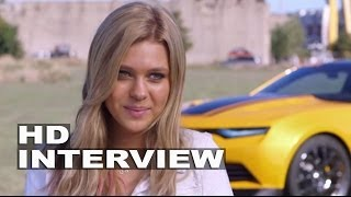 "Transformers 4: Age of Extinction: Nicola Peltz ""Tessa Yeager"" Behind the Scenes Movie Interview"