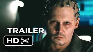 Transcendence Official Trailer #1 (2014) Johnny Depp Sci