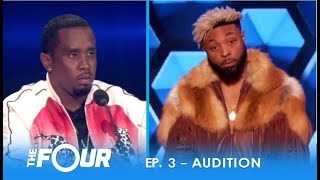 """Elijah Connor: """"Diddy"""" Tests Confident Artist With EPIC STAREDOWN! 