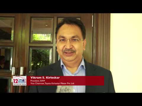 Mr. Vikram S. Kirloskar talks about the Asia's largest Motorshow - Auto Expo 2014