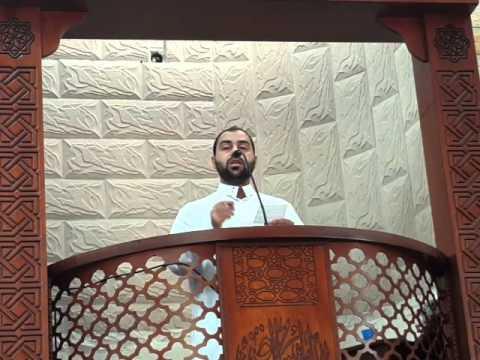 """خطبة الجمعة من مسجد صلاح الدين : """"التقليد الأعمى للغرب"""" للشيخ عبيدة عبد الحكيم أسعد"""