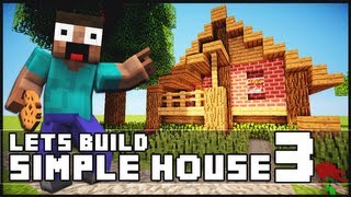 Minecraft: How To Build a Simple Starter House 3