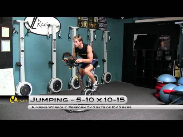Indoor Cycling Workout: Jumps by Jack Nunn