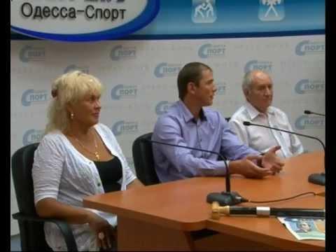 В пресс-клубе Одесса-Спорт Юрий Чебан