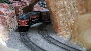 Schweden Modellbahn mit Bahnhof Kiruna im Miniatur Wunderland