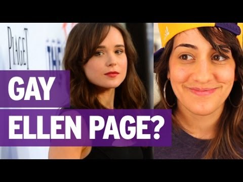 ELLEN PAGE COMES OUT LESBIAN (WE HELPED)