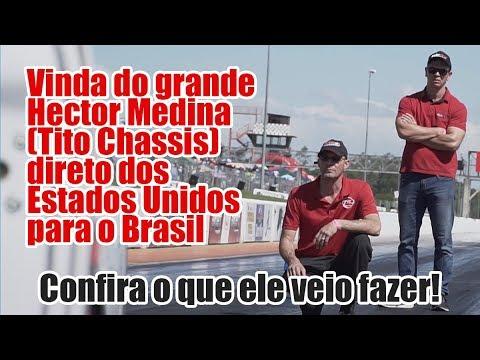 Tito Chassis no Brasil - Injepro e Los Hermanos Competições