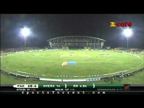 Cricket 2012 2nd T20I Pakistan V Srilanka DK pAkistan Innings --- HD Cricket @  Sportztorrent.com