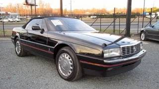 1992 Cadillac Allante Start Up, Exhaust, and In Depth Tour
