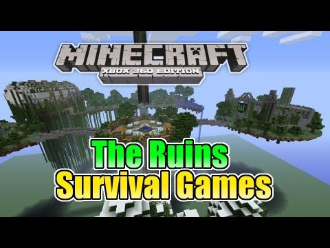 minecraft xbox 360 the ruins survival games w