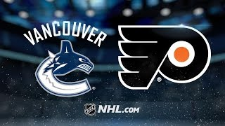Giroux helps Flyers edge Canucks in shootout, 5-4