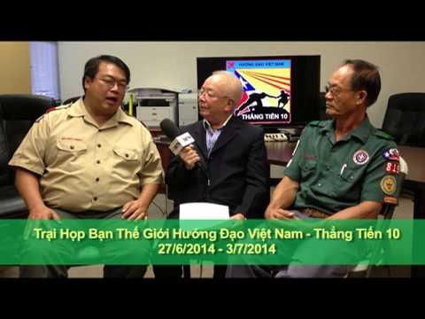 Họp Bạn Thế Giới Hướng Đạo Việt Nam THẲNG TIẾN 10