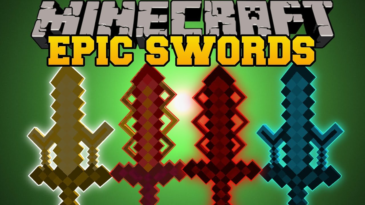 Minecraft Epic Swords Elemental Swords And Upgrades