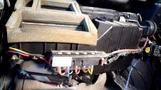 1998 GMC Jimmy Heater Core Rebuild.wmv