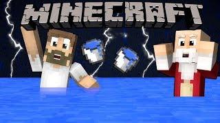 Minecraft VietSub: Nếu trong minecraft bị lũ lụt