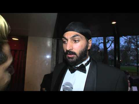 Monty Panesar - Red Carpet - The 4th Asian Awards