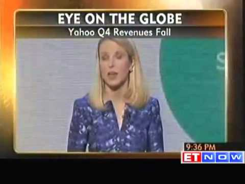Yahoo Q4 profit up 28%; revenue falls 6%