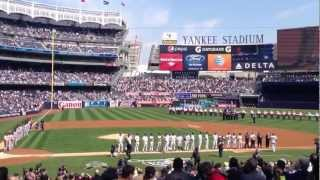 2013 New York Yankees Opening Day Introduction
