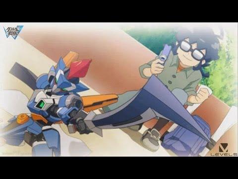 Danball Senki W - Ch.2 pt.3 Adventure Begins ★Play PSP ダンボール戦機 W 世界への旅立ち