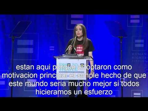 Ellen Page sale del closet (español)