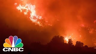 California's Thomas Wildfire Swells To 230,000 Acres, Now Larger Than NYC | CNBC