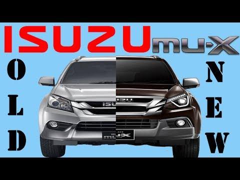 Old Isuzu MUX Vs New Isuzu MUX   2017