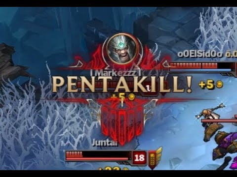 PENTAKILL TRYNDAMERE 2017 | ARAM | Nayuta New Champion of League of Legends?
