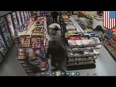 VIDEO: Security footage sa deli na pinuntahan ng Santa Barbara killer na si Elliot Rodger!