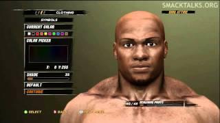 WWE '12: Bobby Lashley CAW Formula By Dest07
