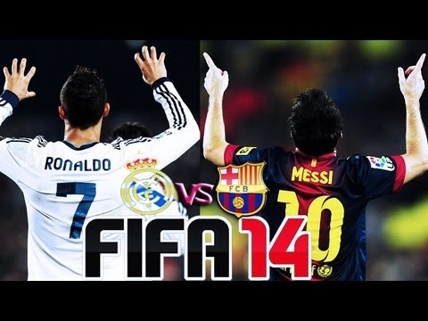 Fifa 2014 - Real Madrid CF VS FC Barcelona