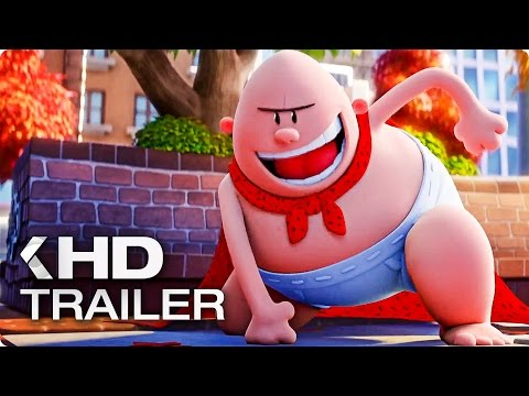 Captain Underpants - trailer na animák