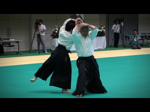 Etsuji Horii (堀井悦二) - Demonstration - 12th International Aikido Federation Congress (2016)