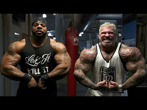 ARCHIVES - NEVER SEEN - BIG DRU - RICH PIANA - IN CALI - GOLDS GYM