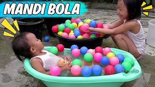 Mainan Anak Mandi Bola Warna Warni Lucu - Kids Pool Fun Balls Lifia Niala Playground @LifiaTubeHD