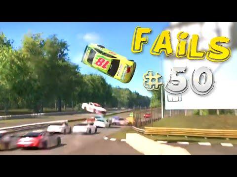 Racing Games FAILS Compilation #50