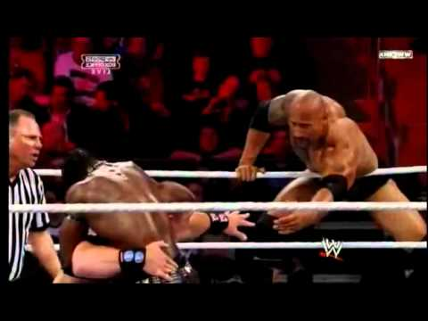 WWE Survivor Series 2011 The Rock   John Cena vs The Miz   R truth   YouTube