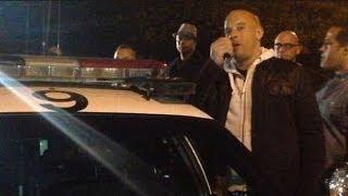 Video Vin Diesel Visita Lugar Del Fatal Accidente De Paul