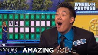 Wheel Of Fortune: Amazing Bonus Round Solve!