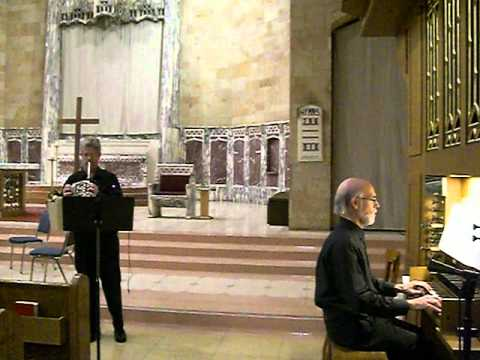 Telemann - Concerto in D - Movement I; Michael Tunnell, Corno da Caccia; Jack Ashworth, Organ