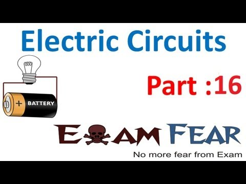 Physics Electric Circuits part 16 (Numerials: Kirchhoff law) CBSE class 12