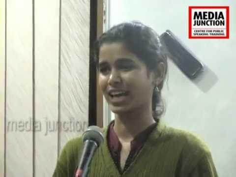 B. Sushma ,Workshop Participant,Media Junction,Hyderabad.