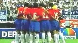 Honduras Vs. Costa Rica 2-3 (1/7/01)