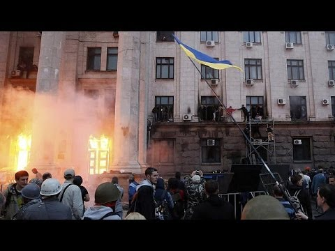 Dozens dead as Ukraine conflict spreads south to Odessa