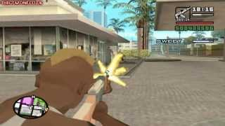 GTA San Andreas Mission #96 Grove 4 Life (HD)