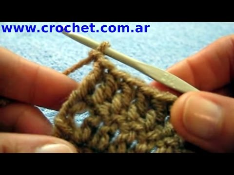 Como cortar y rematar en un tejido crochet tutorial paso a paso.