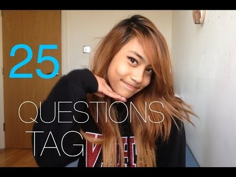25 QUESTIONS TAG || NataliaBoston