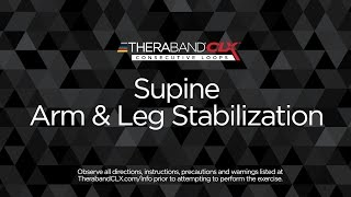 Supine Arm & Leg Stabilization