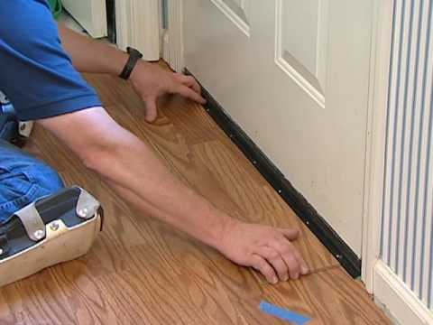 Laminate Flooring Installation Undercutting Door Frames