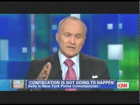 Piers Morgan on gun control again- Charles Ramsey - John Edward - Ray Kelly.